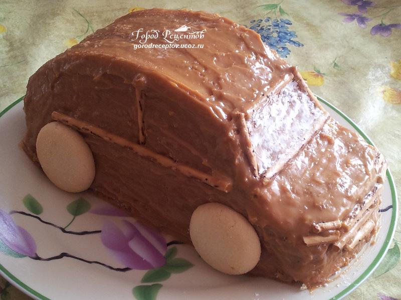 Торт формы машины своими руками 38