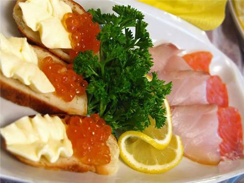 Способы сервировки закусок и блюд
